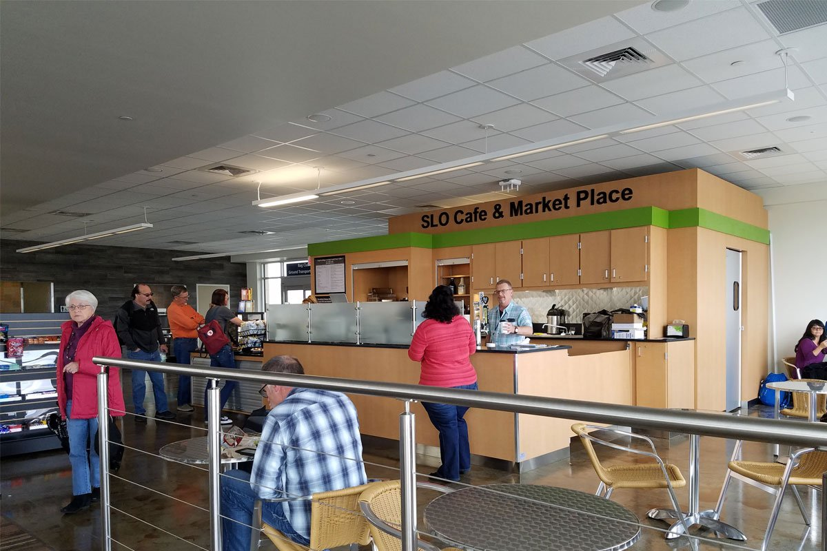 Dining Options San Luis Obispo County Regional Airport