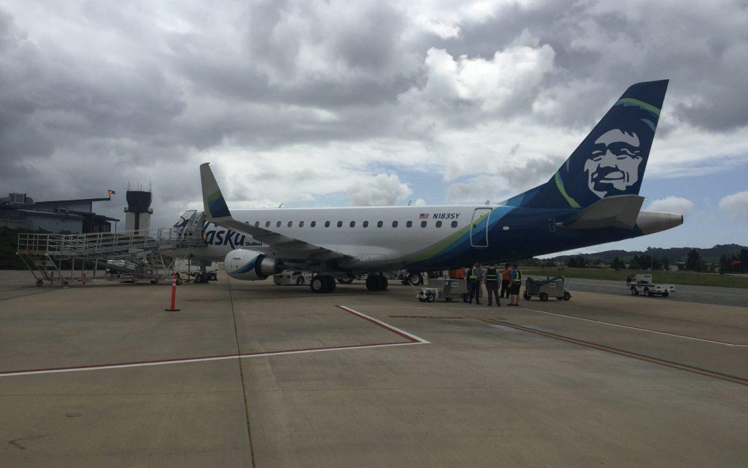 Airport Celebrates Inaugural Flight  between San Luis Obispo and Seattle, Washington
