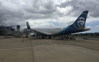 Airport Celebrates Inaugural Flight  between San Luis Obispo and Seattle, Washington