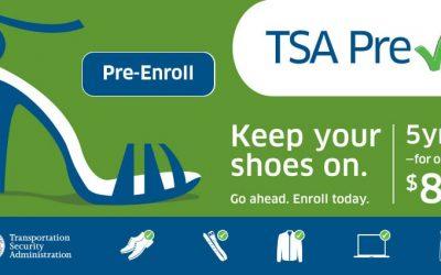 TSA Pre✓® Mobile Enrollment RV Public Event provided by San Luis Obispo Airport.