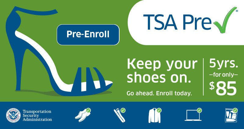 Additional TSA Pre✓® Mobile Enrollment RV Public Event provided by San Luis Obispo Airport