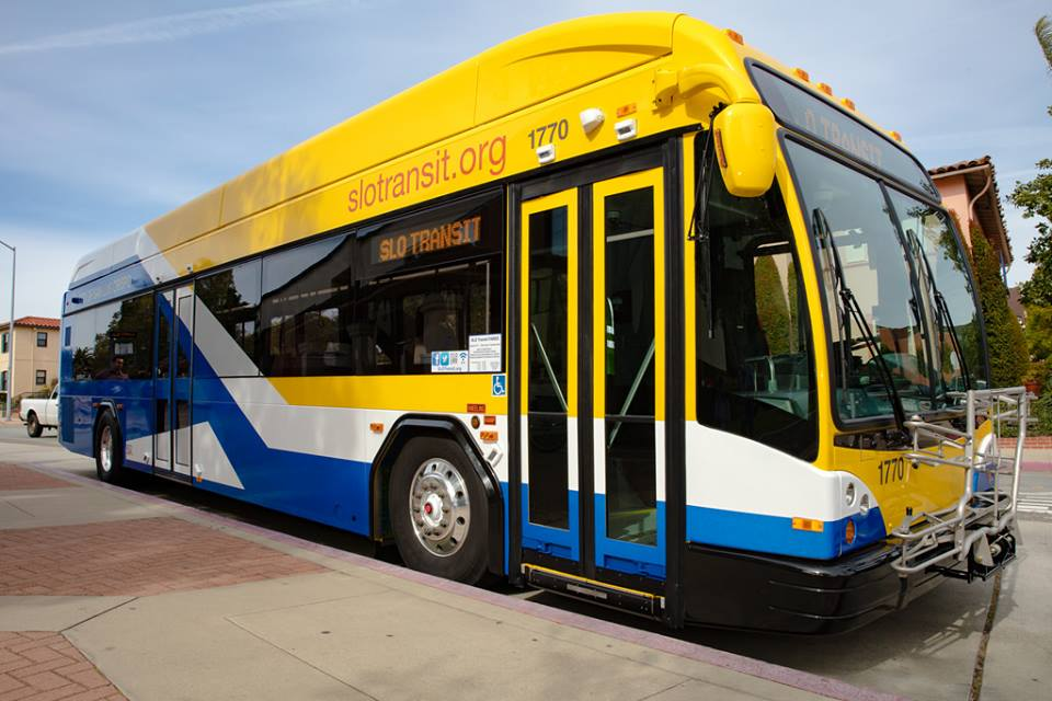 SLO Transit to Start Service to SLO County Airport