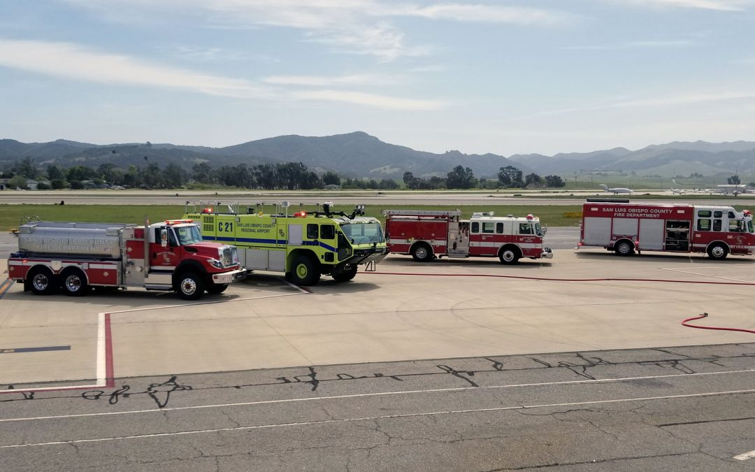 San Luis Obispo County Regional Airport to Conduct  Full-Scale Airport Emergency Drill