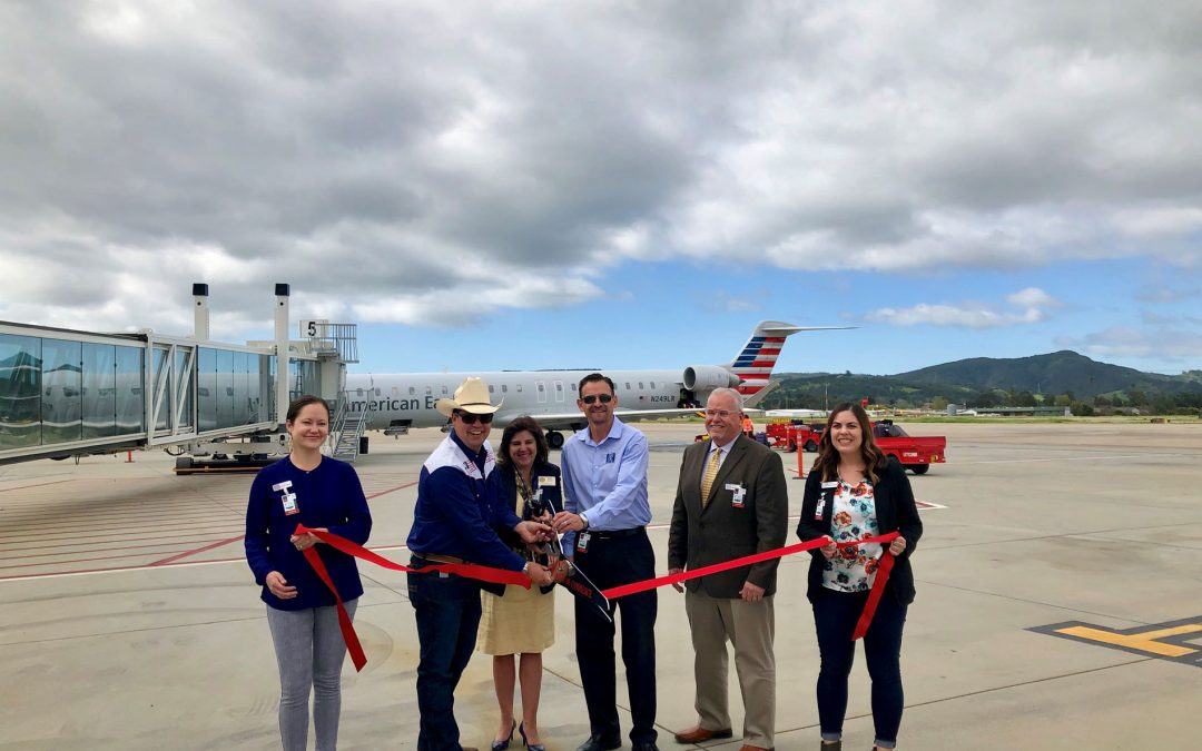 American Airlines Launches New Nonstop Service from  San Luis Obispo County Airport