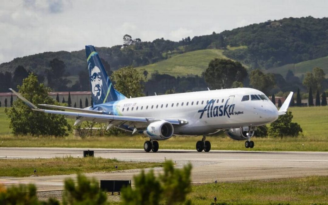 Alaska Airlines Brings New Direct Flights serving San Diego and Portland to SLO County Regional Airport