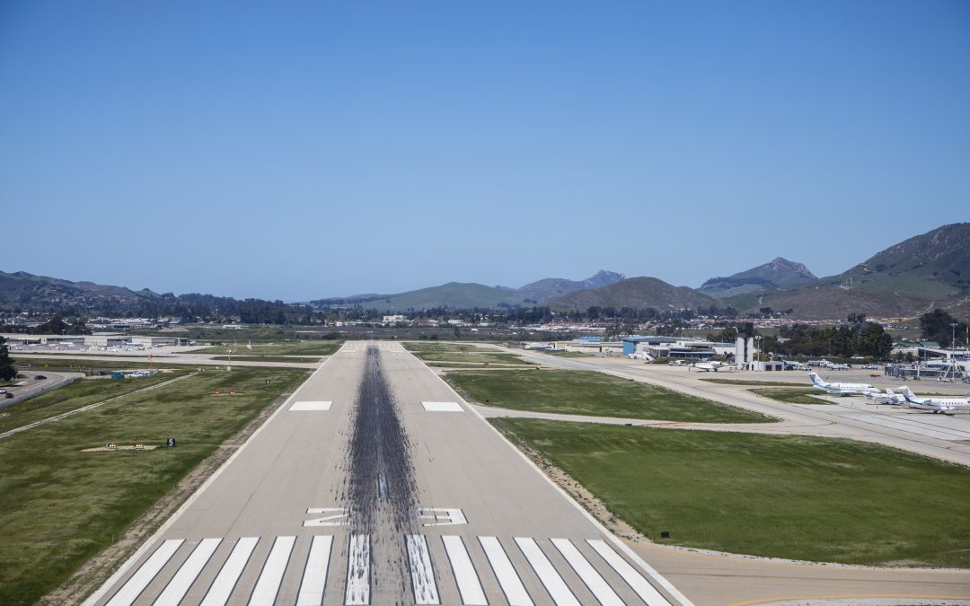 Overnight Runway Rehabilitation Begins Tonight at San Luis Obispo  County Regional Airport
