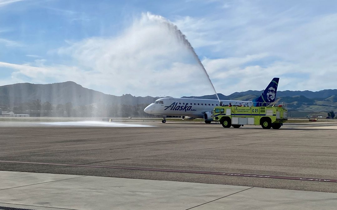 Alaska Airlines Launches Two Daily Nonstop Flights from San Luis Obispo